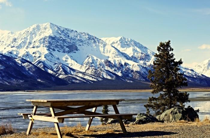 8. Kluane Lake – Yukon