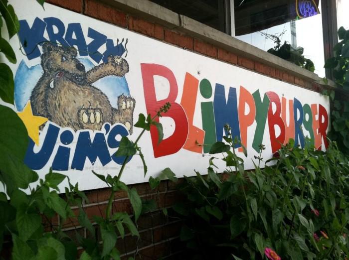 12. Krazy Jim's Blimpy Burger, Ann Arbor