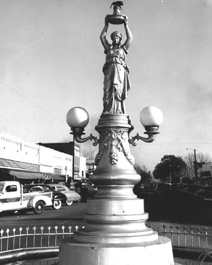 8. Boll Weevil Monument, Enterprise, early 1900s