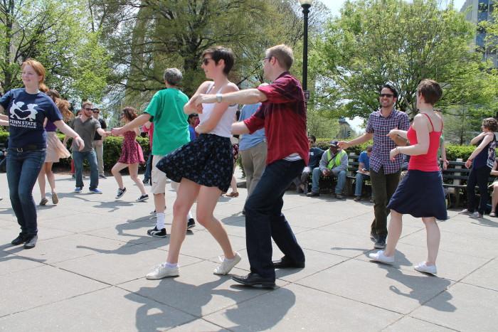 1. Swing Dancing - Fountain Square Theatre Building (Indianapolis)