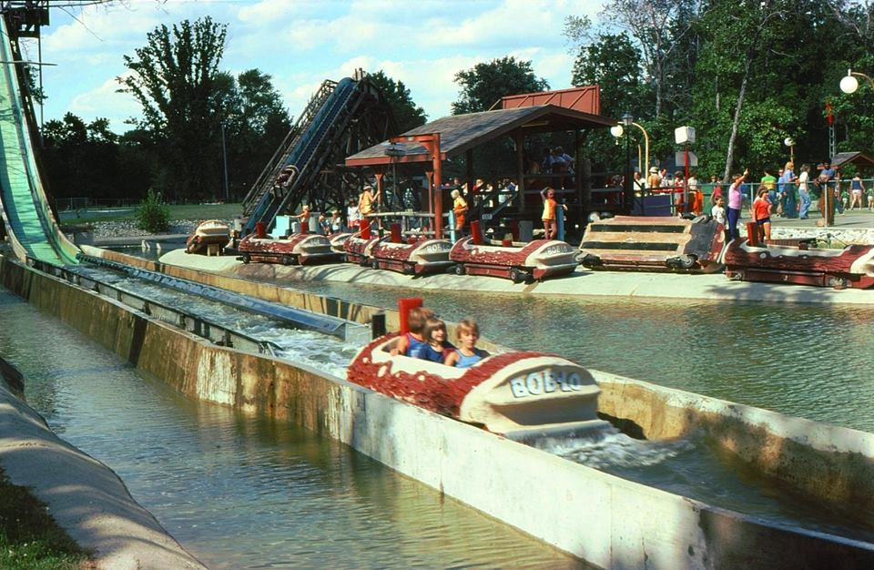 Old Time Amusement Park In Michigan