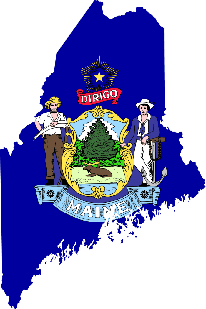 5. Geographically, Maine is bigger than the other five New England States combined.