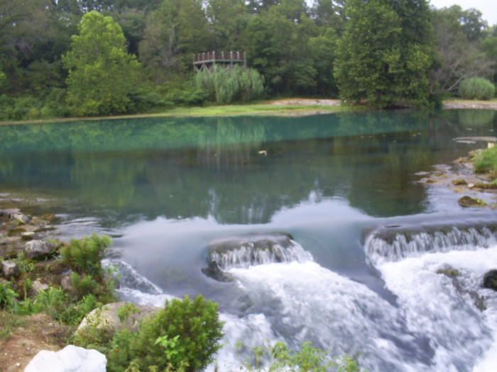 11. Mammoth Spring at Mammoth Spring State Park: Located in the Ozark Plateau, visiting this spring also means visiting some of the best natural beauty Arkansas has to offer.
