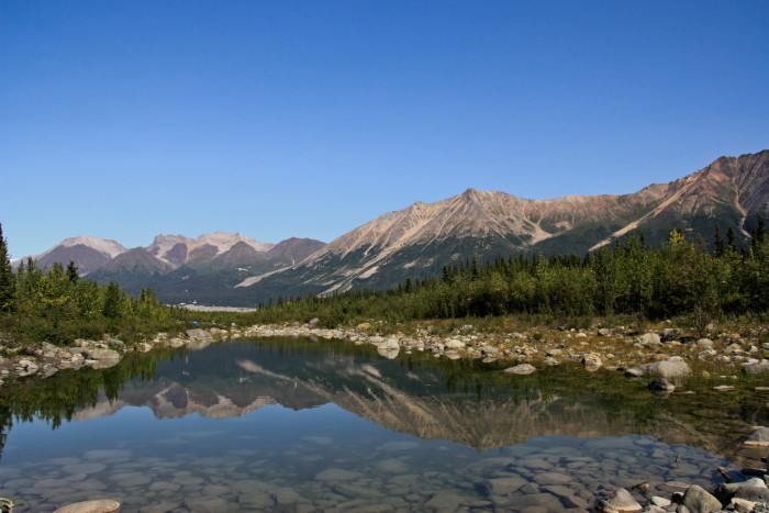 5) McCarthy Swimming Hole - Chitina, Alaska