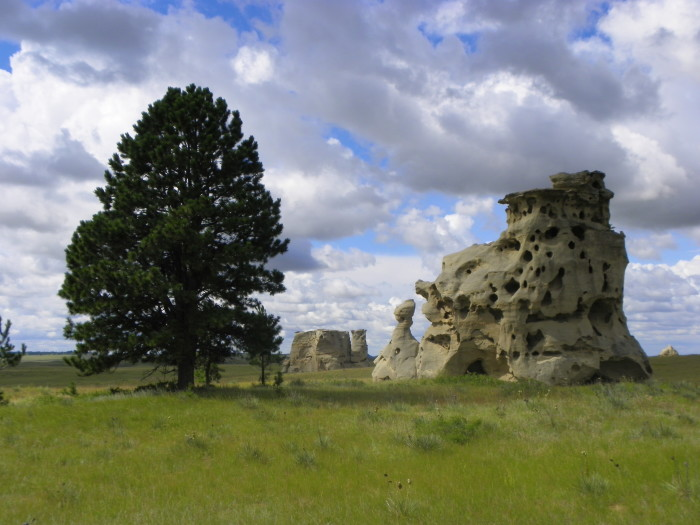 9. The Medicine Rocks