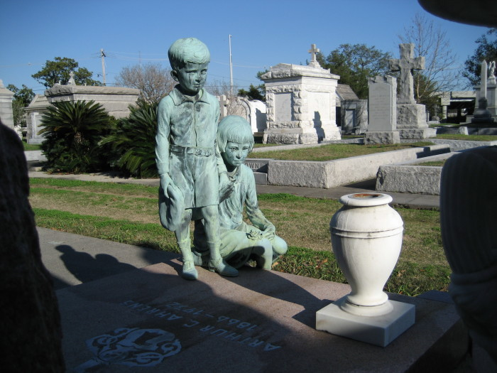 Many famous New Orleanians can be found during a stroll through this cemetery.