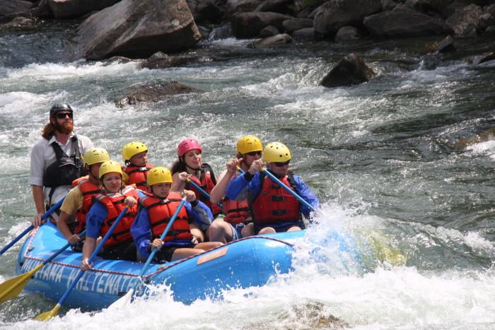 5. The Gallatin River