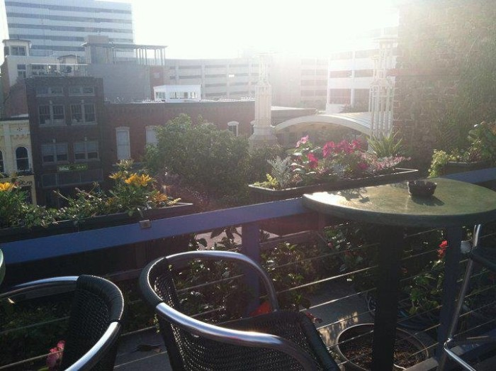 3. Moonshine Roof Garden - Knoxville