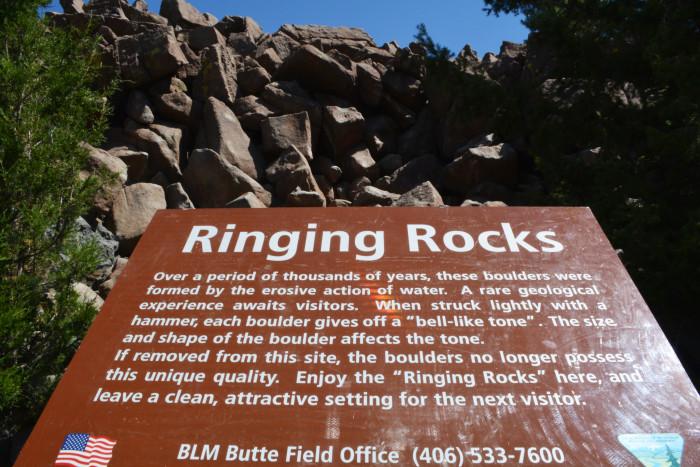 7. Ringing Rocks