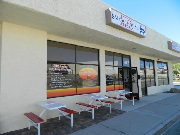 6. Fox Smokehouse BBQ, 1007 Elm St, Unit E, Boulder City, NV 89005