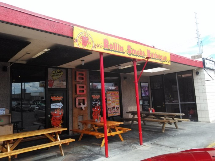 1. Rollin Smoke Barbeque, 3185 S Highland Dr, Las Vegas, NV 89109