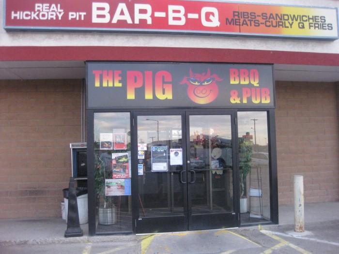 9. The Pig BBQ & Pub,  1139 W Winnemucca Blvd, Winnemucca, NV 89445