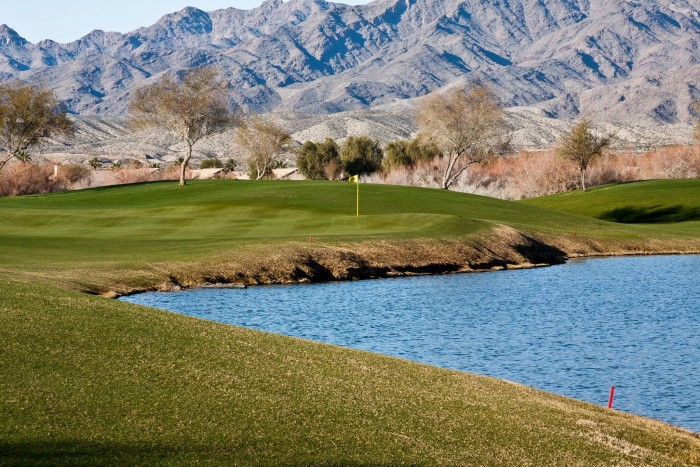 9. Because this state park is located in Laughlin, you'll have access to many different types of entertainment options such as casinos, golf courses and outlet malls. (Pictured: Mojave Resort Golf Club)