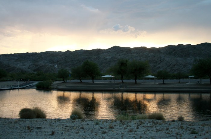 5. The views of the Colorado River and surrounding mountains are incredible!