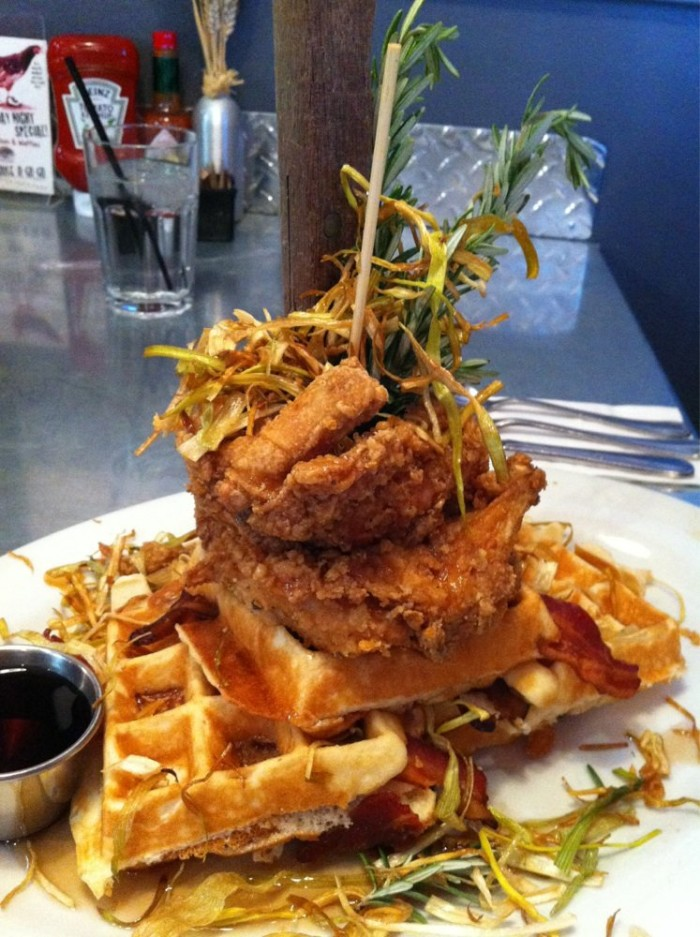 6. Chicken & Waffles - Hash House A Go Go