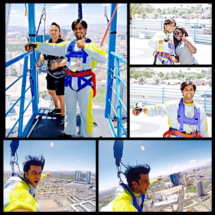 8. SkyJump at the Stratosphere Tower - Las Vegas, NV