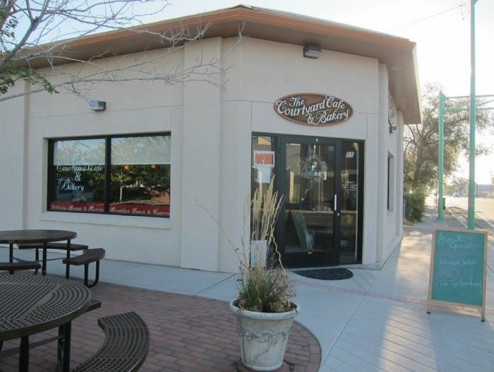 8. The Courtyard Cafe & Bakery, 55 E Williams Ave, Fallon, NV 89406