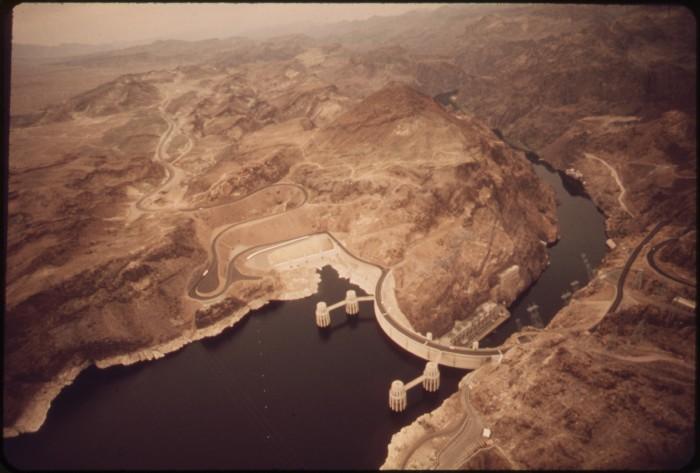 10. Hoover Dam, 1972