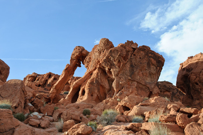 5. Visit Valley of Fire State Park - Nevada's oldest and largest state park.