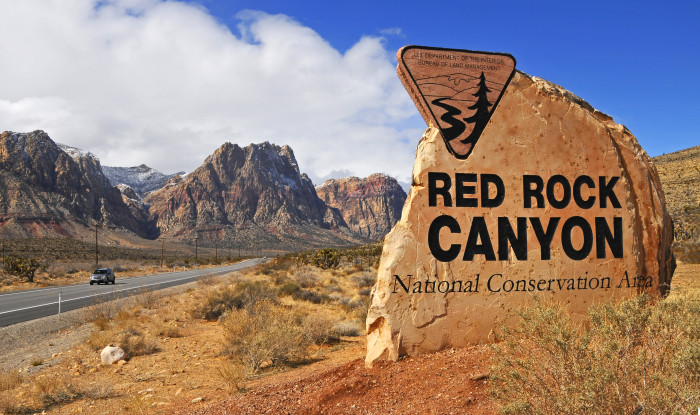 8. Explore Red Rock Canyon.