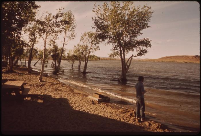 4. Lake Lahontan Reservoir, Carson River, 1973