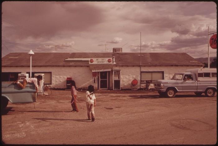 12. Paiute Indian Children, Pyramid Lake Indian Reservation, 1973