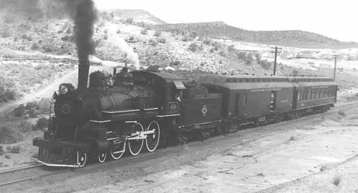 4. Nevada Northern Railway - 1910