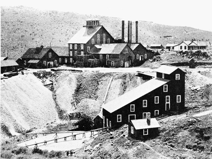 7. Comstock Lode / Alta Mine Mill - 1896