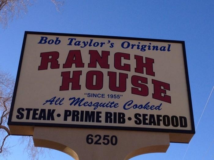 5. Bob Taylor's Original Ranch House, 6250 Rio Vista St, Las Vegas, NV 89130