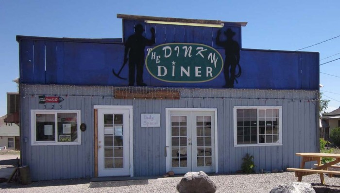 Lunch: The Dinky Diner - 323 Crook Ave, Goldfield, NV 89013