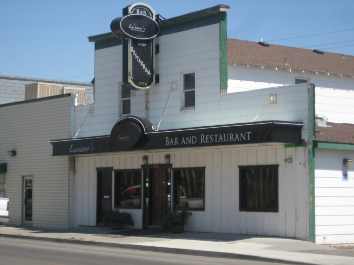 Dinner: Luciano's Bar and Restaurant - 351 Silver St, Elko, NV 89801