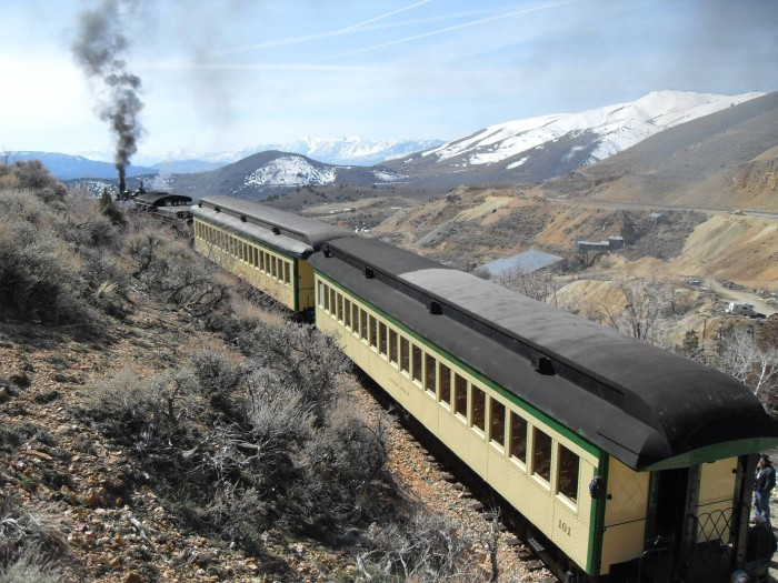 1. Take a ride on the historic Virginia & Truckee Railroad.