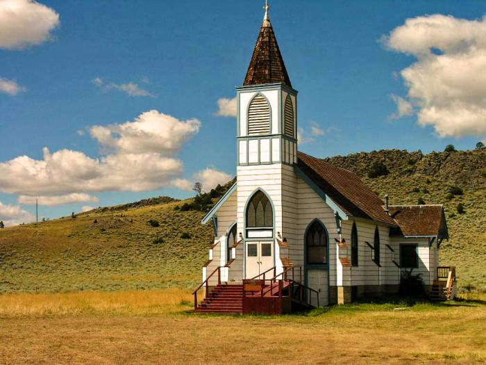3. Old Church Near Castle Ghost Town
