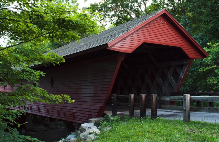 7. Newfield Covered Bridge
