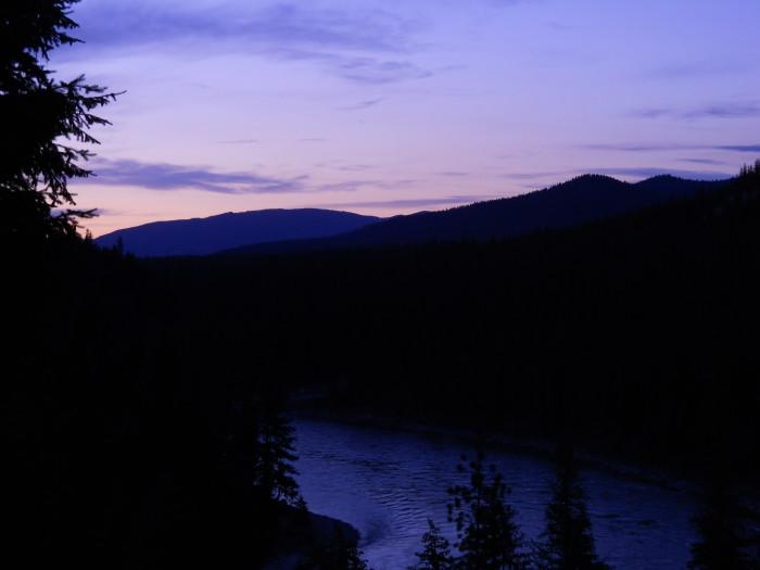 6. Night over Montana.