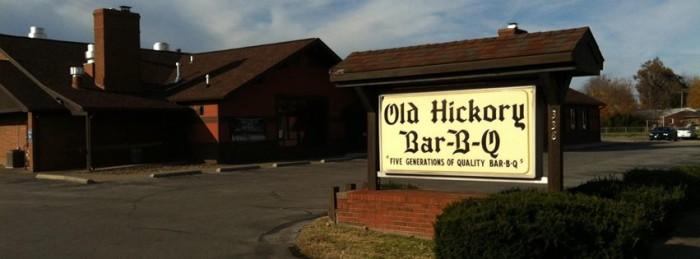 7. Old Hickory Bar B Cue at 338 Washington Avenue in Owensboro