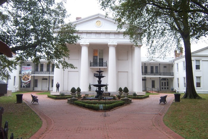 10. Old State Capitol Building, Little Rock, 2008
