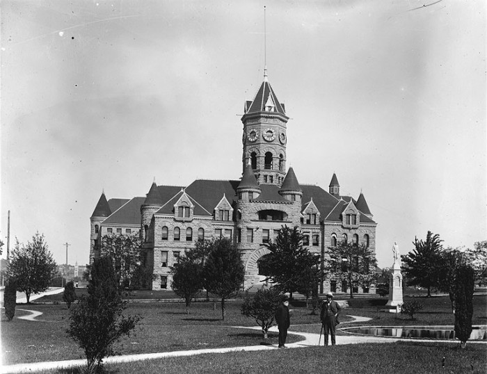 2. This was our state's old capitol building in 1910.