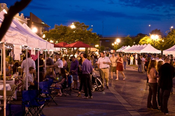 """2. Opelika's """"On the Tracks"""" food and wine event is one of the best festivals you'll ever attend."""