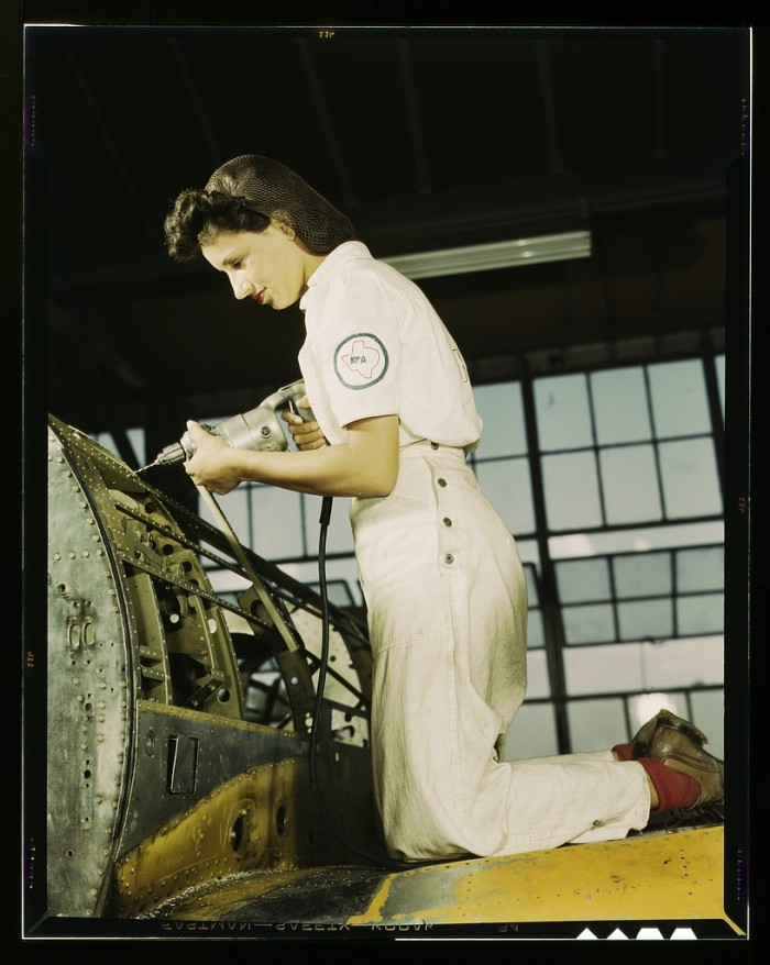 3. We all know how important women's work was during WWII!