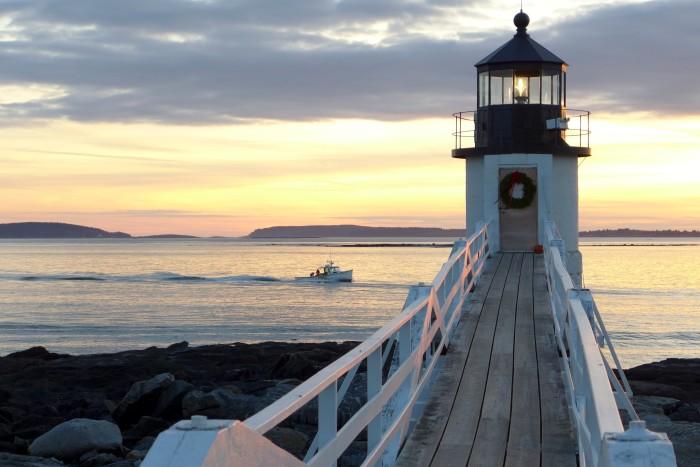 1. Visit a lighthouse north of Portland.