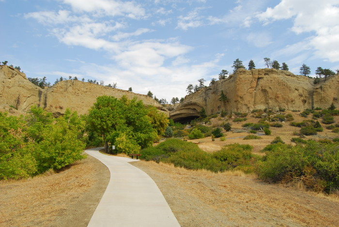 1. Pictograph Cave State Park, Billings
