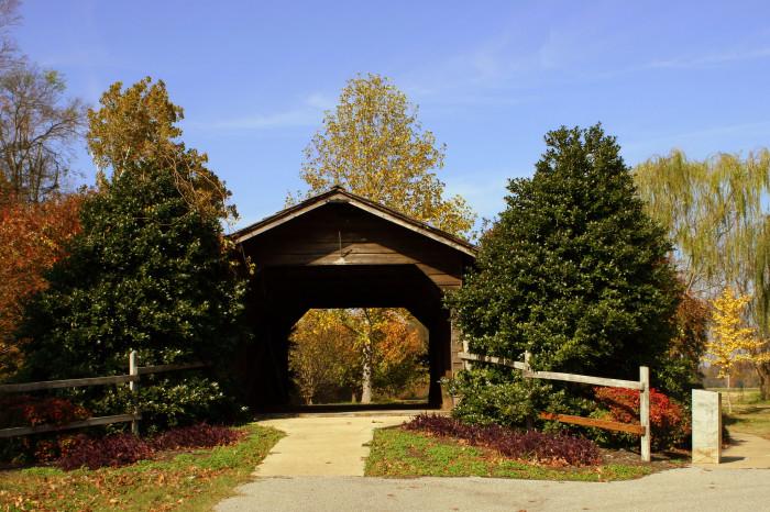 2) Parks Covered Bridge