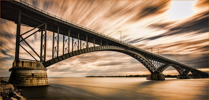 6. Peace Bridge, Buffalo