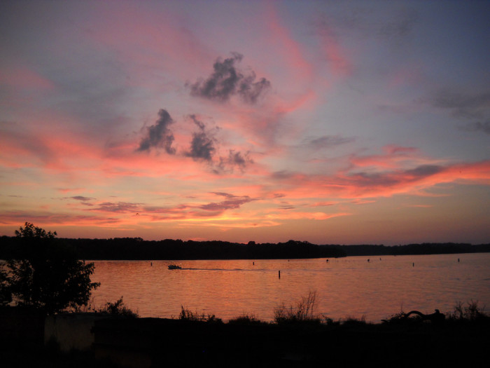 7) Percy Priest Lake