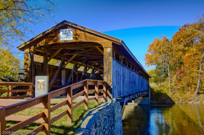 11. Perrine's Covered Bridge