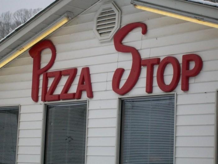 10. Pizza Stop at 1488 Blacklog Road in Inez