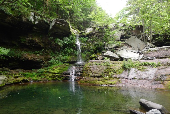 1. Make a splash and plunge into one of our many refreshing swimming holes.
