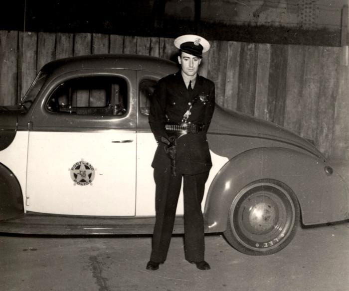 9. A Portland Police officer, 1940.