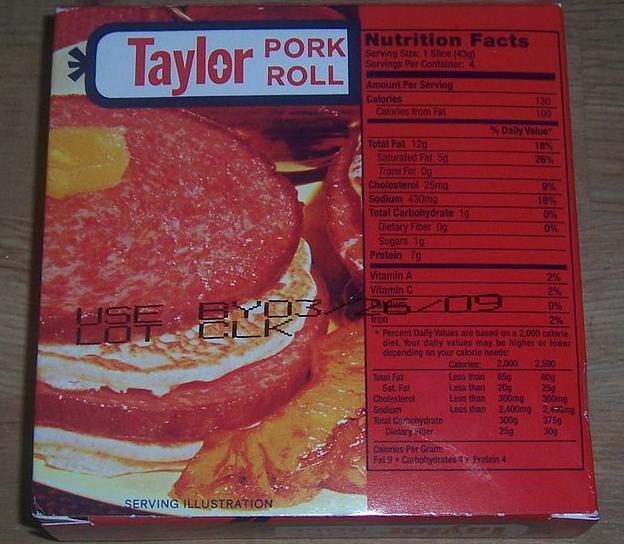 5. Pork Roll